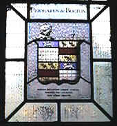 Danson Richards Currer installed the window in 1808